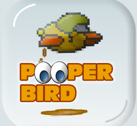 Flap and poop your way through the levels.