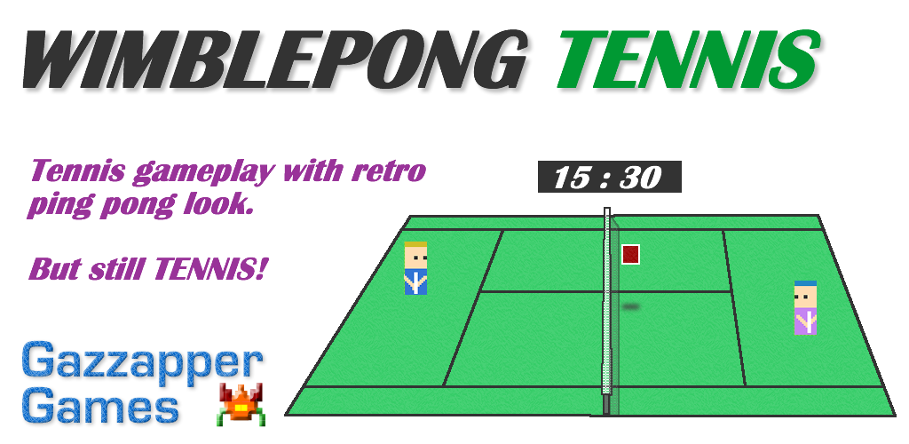 wimblepong tennis game android